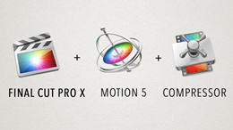 Final Cut Pro X (With Motion and Compressor) with plugins worth $1000 [Direct download Appstore]