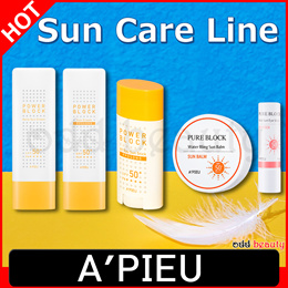[APIEU] Sun Care Line/Power block/Pure block/Sun crean/Sun stick/Sun Balm//Korea cosmetic