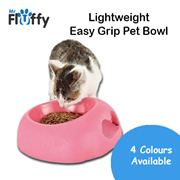 Lightweight Easy Grip Pet Bowl / Feeding / Dog / Cat / Puppy / Kitten