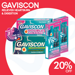 [RB] Gaviscon Double Action Fast Relief for Heartburn and Indigestion