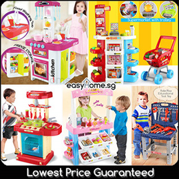 ★SALE★ 50 Types Pretend Role Play Playset/ Kitchen/ Doctor/ Tools Cooking Market/ Educational Toy