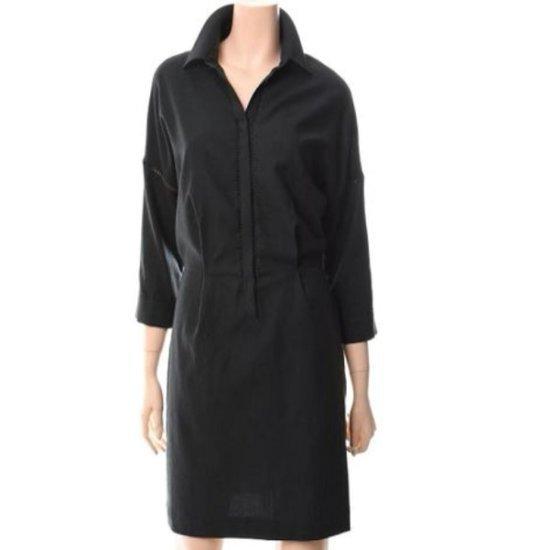 ・ビジット・インニューヨークデイリーシャツ型腰バンディングワンピースVS7OP03US 面ワンピース/ 韓国ファッション