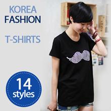 ♡Korea Fashion T-Shirts ♡ 14 Styles Woman Tee / Korea Woman Fashion / T Shirts [HowDY T001]