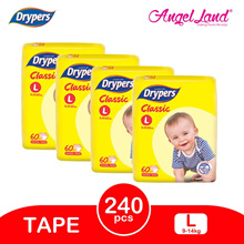 Drypers Classic Family Pack (4 packs)