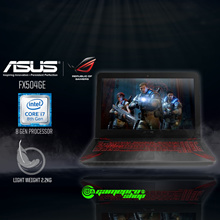 ASUS FX504GE - E4183T (8th-Gen GTX1050Ti 4GB GDDR5) 15.6 Gaming Laptop