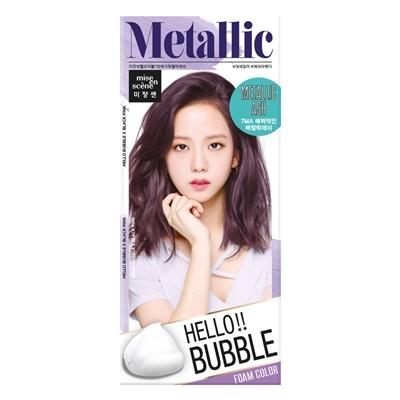 Mise en scene Hello bubble 7MA Metallic ash