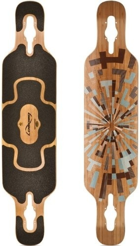 (Loaded) Loaded Tan Tien 2012 Flex 2 Bamboo Longboard Skateboard Deck With  Black Grip Tape New