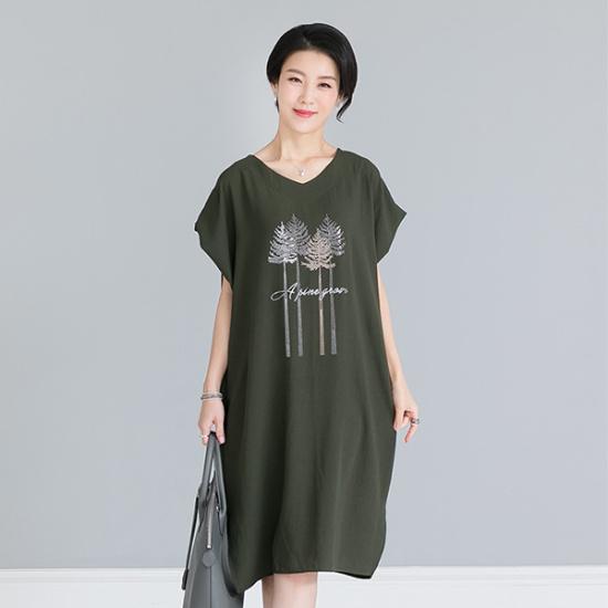 デッドと7BOP093ホットピースシャイニーワンピース シフォン/レースのワンピース/ 韓国ファッション