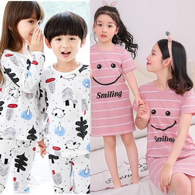 Deer Mum Children Girls Fairy Sleepwears Kids Lovely Cute Pajamas Set 2 Pieces