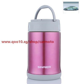 Stewing pot stainless steel Thermos vacuum insulation boxes mention student beaker home insulation p