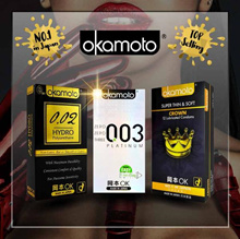 ★JAPAN NO.1 OKAMOTO CONDOMS SALE ★ Thinnest Condom ★0.02mm ★Safe Sex★Gay★Delay★Prolong★Adult Sex Toy