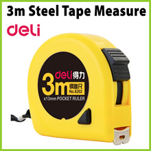 [PL1804] DELI 3m Steel Tape Measure ★ Measuring Tape / Pocket Ruler No. 8202