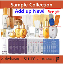 laneige ▶BEST PRICE SAMPLE COLLECTION◀ SULWHASOO / LANEIGE / SUM37/ OHUI/WHOO/HERA