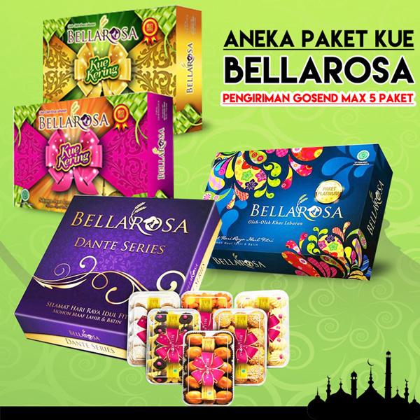 [ Bellarosa ] Aneka Paket Lebaran Kue kering Banyak Jenis Deals for only Rp65.000 instead of Rp65.000