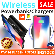 [IT FAIR SALE!!] Fast Charging Baseus 10W Wireless Charger/Xiaomi Powerbank/Gravity Car Mount