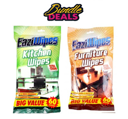 EaziWipes Kitchen Extra Strong Wipes 60 Pack each