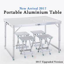 ★★Portable Foldable Aluminium Table★★ [New arrival stock] 2 in 1 multipurpose table/ BEST SELLER
