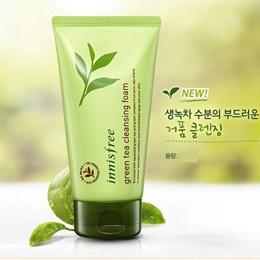 innisfree green tea cleansing foam 150ml