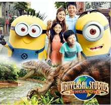 Universal Studio Singapore Ticket USS OPEN DATED admission E-Ticket+ Meal and Retail Voucher环球影城