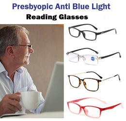 Anti Blue Ray Light Presbyopia Reading Glasses Anti Glare Computer Spectacles