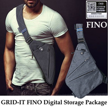 ★Absolutely Authentic★GRID-IT FINO Digital Storage Package/Close-fitting/Backpack/Travel Shoulder Ba