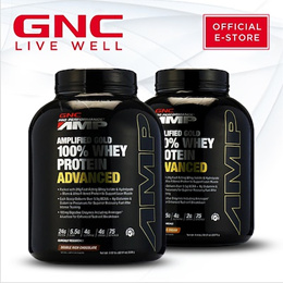Q10 Exclusive | PRO Performance® | AMP Gold 100% Whey Protein Advanced 5 lbs [Sports Nutrition]