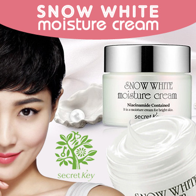 Secret Key Snow White Cream 50g Perawatan Wajah Kecantikkan Kosmetik Source · Secret Key NEW SNOW WHITE MOISTURE Cream 50gr NEW READYSTOCK jkt