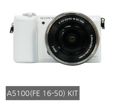 [Best Price!]Sony a5100 Mirrorless Camera white 16-50mm Lens kit