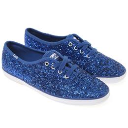 [Keds] CHAMPION GLITTER (WF54536) Blue (BU) sneakers