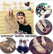 SANDALS COLLECTION]Lady Flat Sandals Tassel Sandals★Casual Platform Shoes★Summer Beach Sandals★Buckle Slippers