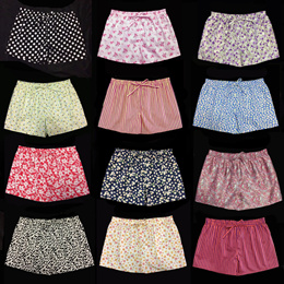 Women Pyjamas shorts/Ladies boxers/Women Home shorts (size L and XL) 100% cotton fabrics