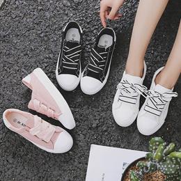 ★2018★ Harajuku sneakers shoes wild Korean summer cloth shoes white student canvas PUMA sport shoes