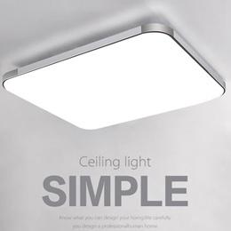 12X12 Fashion Modern Acrylic + Aluminum White Warm LED Ceiling Light Pendant Lamp Fixture Chandelier