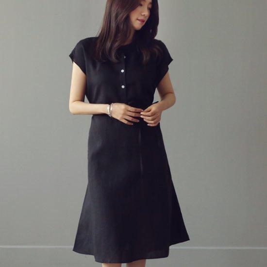 綿ワンピース/ 韓国ファッション