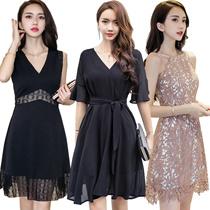 【update】Black Dresses/Korean style Slim dress/Sexy/Strapless/Halter/Little black dress