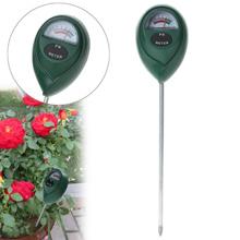 Soil PH Meter Tester Soil Tester Acidity Humidity Sunlight Garden Plants Flowers Moist Tester Instru