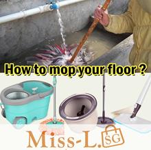 [BL] LATEST 2017 INNOVATION BOOMJOY M8 Boutique Spin Dry Mop Set/ Spray Mop/Flat-Mop/lazy-mop