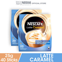 NESCAFE Latte Caramel 20 Sticks 25g x2 packs