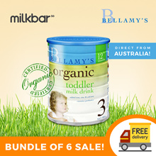 [Bellamy] Cheapest in Singapore Organic Formula Milk Stage 2/3 100% Direct Courier from Australia