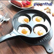 Lowenthal 4-Hole Egg Frying Pan / Xylian + Titanium coating Cookware Pans wok cooking
