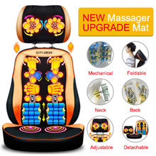 Multifunctional body massager chair / Lumbar vertebra / Hips / Neck massage pad