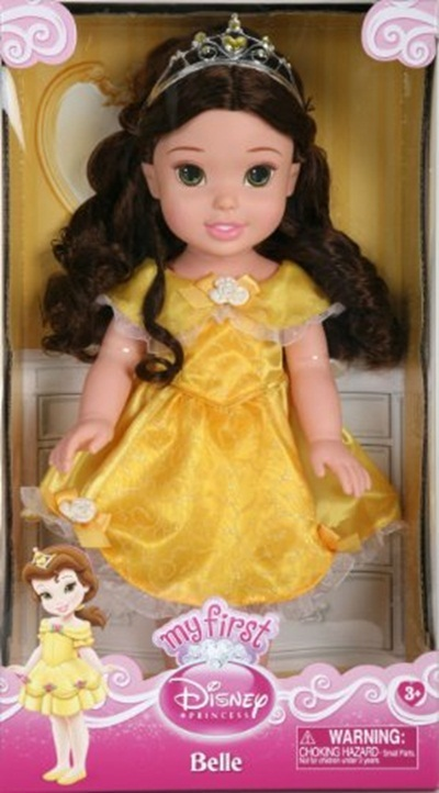 My First Disney Princess Toddler Belle 14 Doll With Accessories