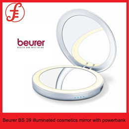 Beurer BS 39 illuminated cosmetics mirror with powerbank (BS39)