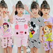 Kids Sleepwear/Cute Cartoon Pyjamas/ Boys and Girls Pyjamas/ Children Pajamas for 2-15 years/dress