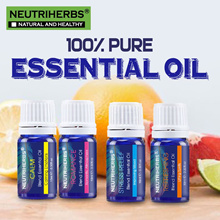 【NEUTRIHERBS】100% Pure Essential Oils | Diffuser Body Massage Shower Bath 10ml