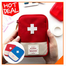 Tas Dompet Obat Pertolongan Pertama Mini Kit Traveling FIRTS AID PUNCH SJ0101 K005