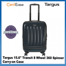 "Targus 15.6""  Transit 8 Wheel 360 Spinner Carry-on Case - Black"