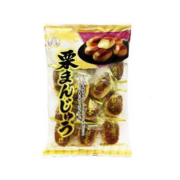【일본 맛있는 과자】미쓰비시식품 밤만쥬