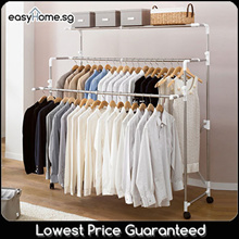 Korean Clothes Rack BR703 / Foldable 3 Deck Drying Rack/ X Rack / Space Saving Storage