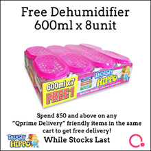 [RB]【8 unit】Thirsty Hippo Dehumidifier 600ml | FREE $10 Koi gift card (see description)
